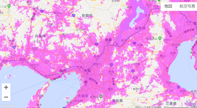 「W06」(WiMAX 2+)のエリア(関西).PNG