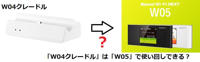 「W04クレードル」は「W05」で使い回しできる?.png
