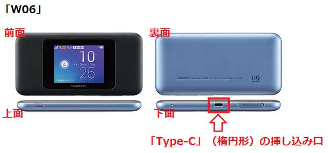 「W06」「Type-C」の挿し込み口.png